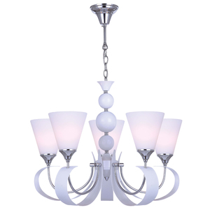 Contemporary modern crystal ball iron hanging chandelier lighting E14 pendant lamp