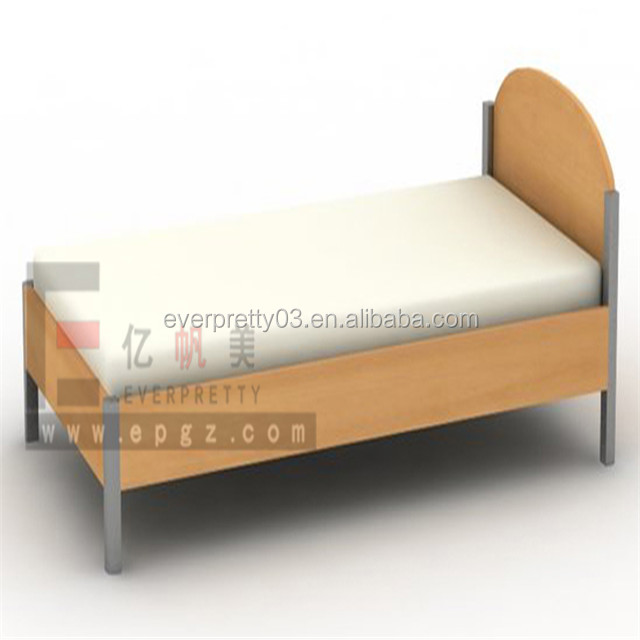 Charming Design Modern Furniture Accessories Wood Heavy Duty Adult Single Bed