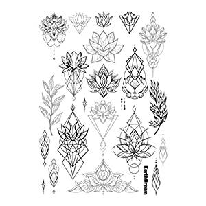 Cheap Black And Grey Lotus Tattoo Find Black And Grey Lotus Tattoo