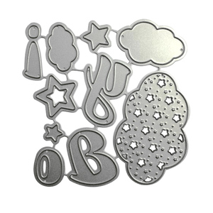 Hot sales craft metal baby theme cutting dies for scrapbooking
