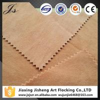 Wholesale weft knitted double sided suede fabric