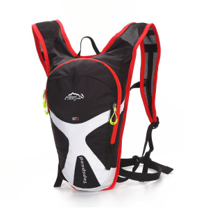 Outdoor bicycle bag with soft back and double shoulder bag