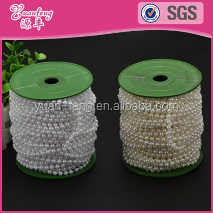 String Spools Wedding Party Decoration Roll DIY Plastic Pearl Beads