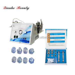 Skin scrubber water peel diamond microdermabrasion and oxygen machine