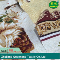 China wholesale supplier flower design bed sheet fabric