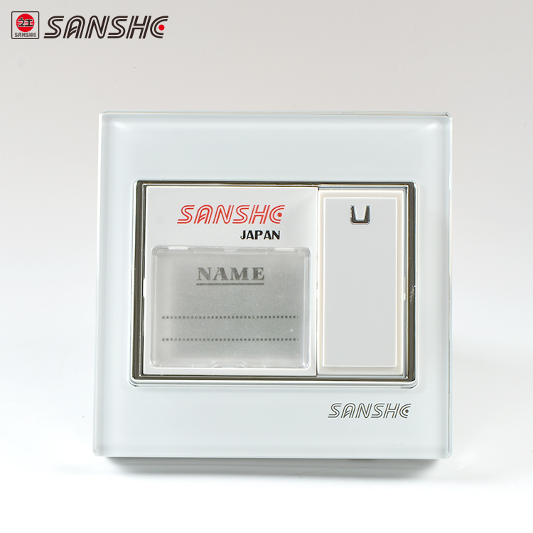 SANSHE commercio all'ingrosso 1 gang campanello elettrico push button switch