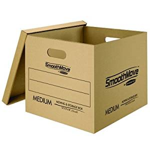 Bankers Box SmoothMove Classic Moving and Storage Boxes