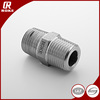 Stainless steel male tube instrument tube fitting hex nipple