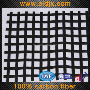 Reliable and cheap composite carbon fiber geogrid