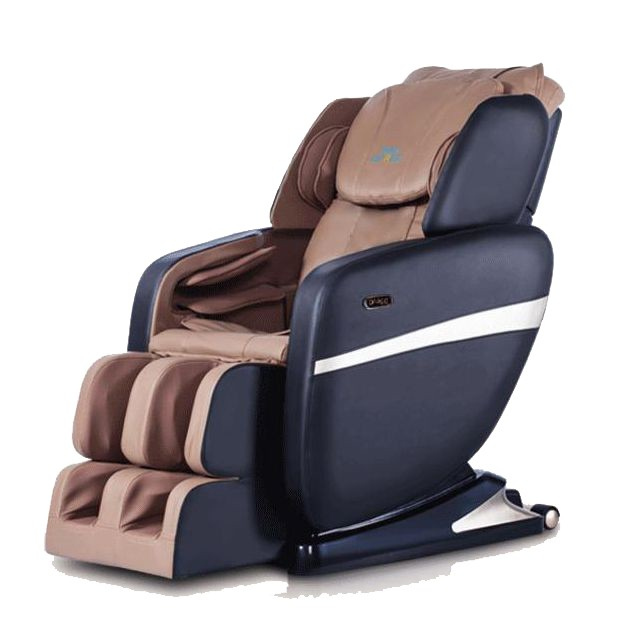 electric barber chair with massage human touch massage chair