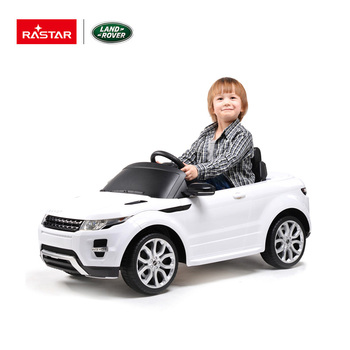 Rastar Range Rover Evoque Kids Plastic Battery Ride On Toy Cars For To Drive