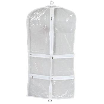 Hang In Closet Clear Garment Bags