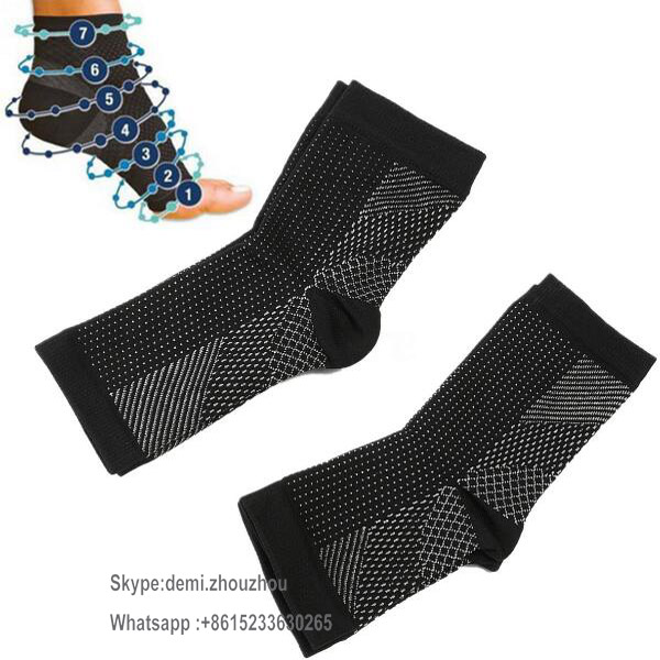 The Best Foot Care Compression Sleeve Socks Eases Swelling Heel Spurs Ankle Support