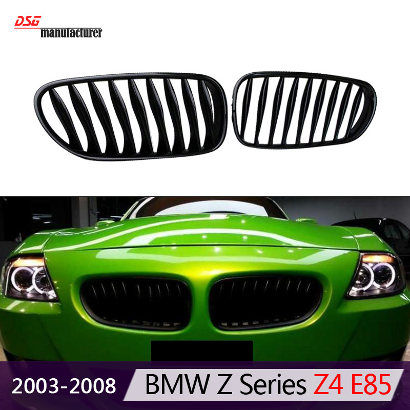 Z4 E85 E86 Abs Front Bumper Grills For Bmw Z4 E85 2003 To 2008