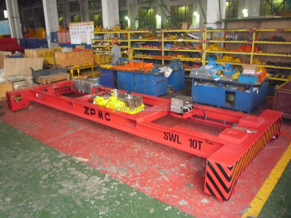 Iso Mechanical Container Lift Frame Spreader For Lifting 40ft/20ft ...