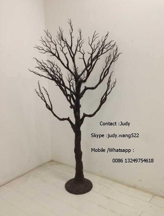 Etalage decoratie boom zwart 8 meter dorre boom voor for Houten decoratie boom