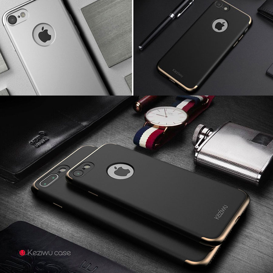 2016 Newest Creative Matte Thin Back Shell Detachable Business Cover For iPhone 7 7 Plus Luxury Phone Case