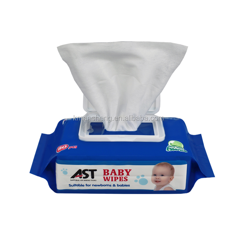ALCOHOL-FREE cheap baby wet wipe,clean wipes for baby and adult