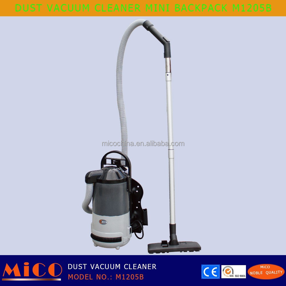 BACKPACK CARPET DUST VACUUM CLEANING SMALL MACHINE M1205B