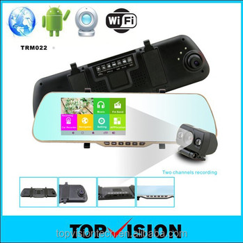 Interesting Computer Monitor Mirror Car Rearview Android Camera Recorder Rear View Dvr With On Decor