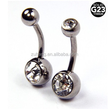 Solid G23 Titanium Hypoallergenic Belly Button Rings Buy Hypoallergenic Belly Button Rings Hypoallergenic Belly Rings Belly Button Rings Product On