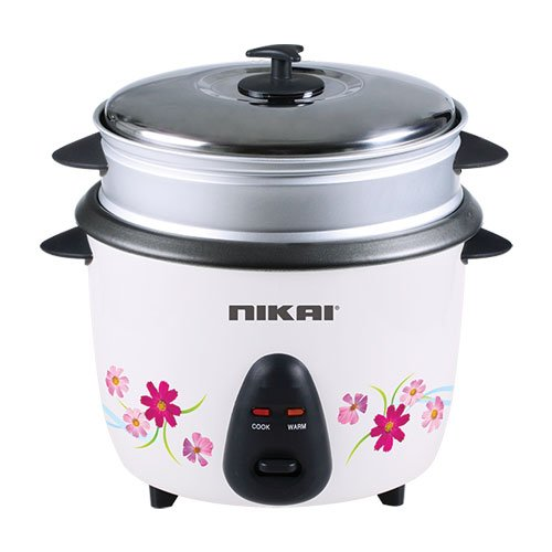 Nikai NR670 0.6Liter Rice Cooker Non Stick Top,Steamer 220/240/volt 50Hz.(Will Not Work IN USA)