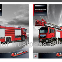 Hydraulic Ladder Fire Truck - Buy Fire Truck Product on Alibaba.com