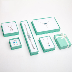 Tiffany Blue Jewellery Gift Paper Necklace Box