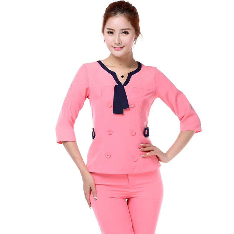 Spa uniforms cotton promotion shop for promotional spa for Spa uniform cotton