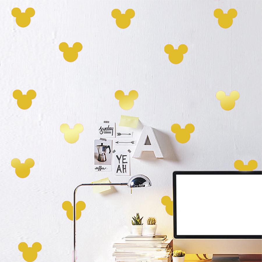 online kaufen gro handel mickey maus wandtattoo aus china mickey maus wandtattoo gro h ndler. Black Bedroom Furniture Sets. Home Design Ideas