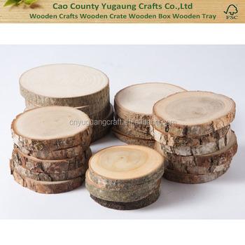 Wood Slices Rustic Wood Slices For Diy Weddings Favors Crafts Buy Thin Wood Slices Sliced Wood Veneer Wood Slices Product On Alibaba Com
