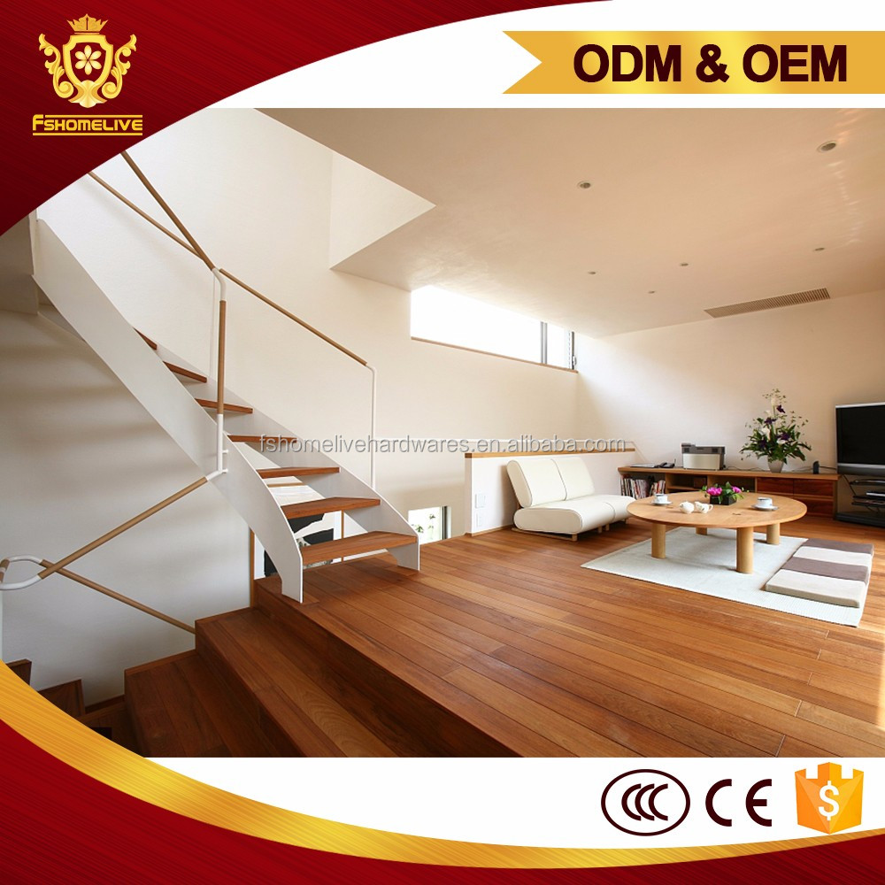 Home Design Interior Staircase Modern Curved Timber Steel Stair