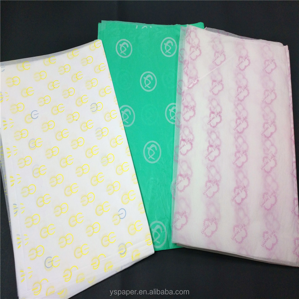 Patterned 25gsm Custom Logo Thin Good Quality Tissue <strong>Paper</strong>