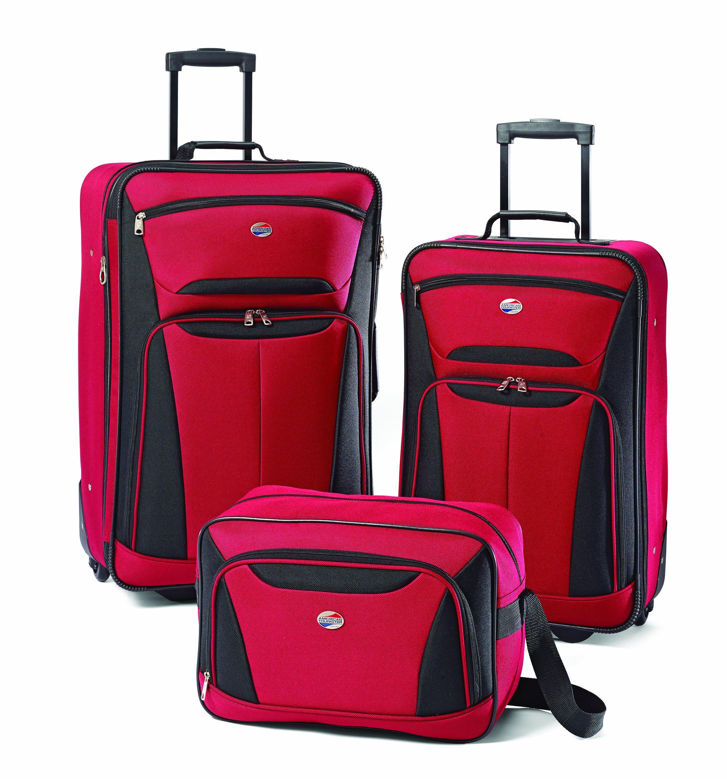 9b56dda6920a Get Quotations · American Tourister Luggage Fieldbrook II 3 Piece Set