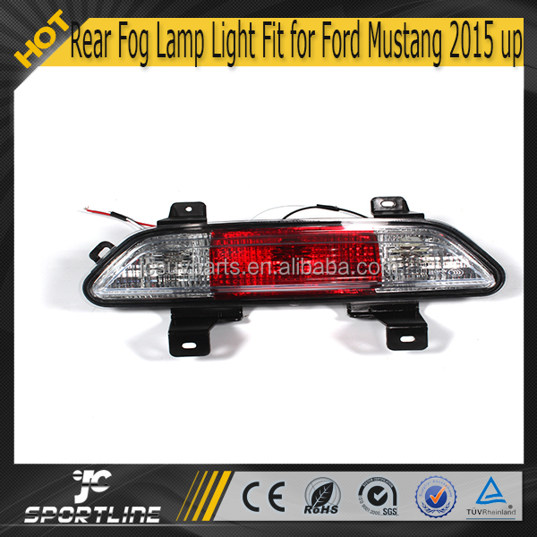 PP Mustang Rear Fog Lamp Light Fit for Ford mustang 2015 Up