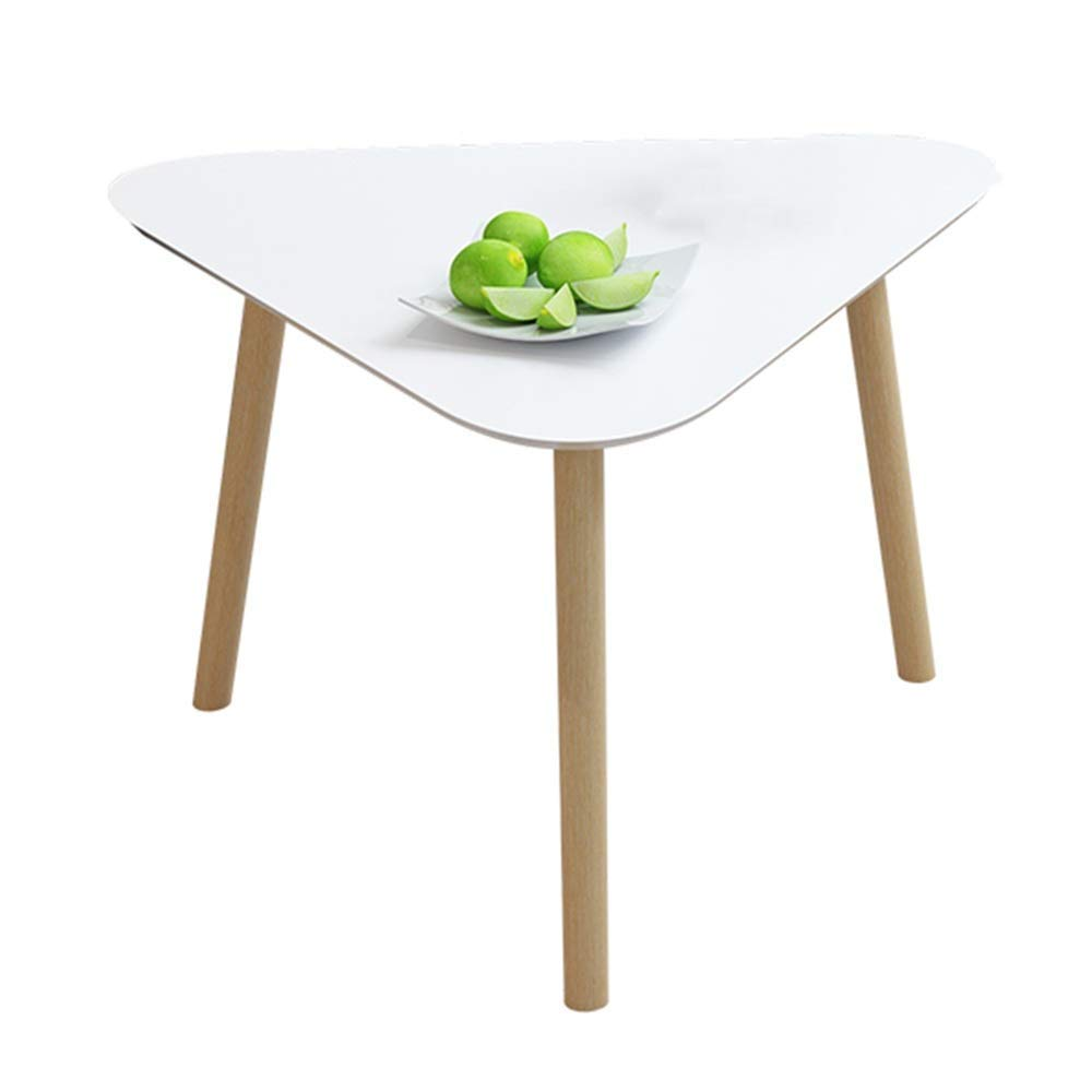 NAN Liang Coffee Tables End Tables Modern Decor Side Table Triangle Occasional Stand Tea Table for Living Room Home and Office Set White Folding Tables (Size : 40cm)