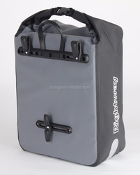 Cycling Waterproof Rear Saddle Pack Multi-fonction Bags 3 in 1 bicycle Rear Carrier Bag Rear Pack Trunk bike Pannier