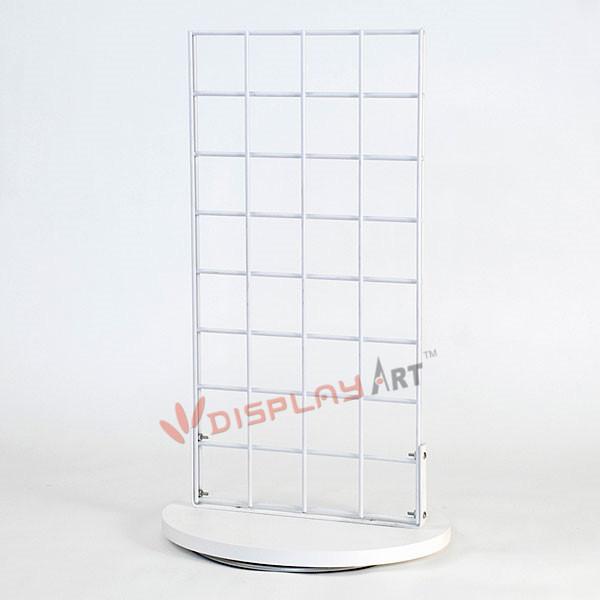 New Retails Black Finish Slatwall Countertop Spinner Display 3OC