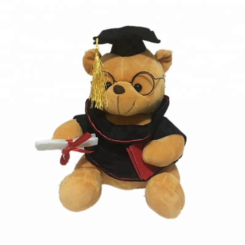 Hediyeler hatıra doldurulmuş hayvanlar peluş oyuncaklar doktor oyuncak mezuniyet ayılar
