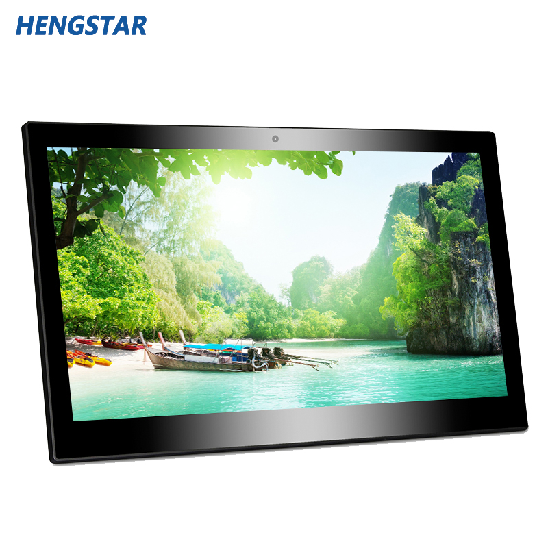 14 Inch LED Display plastic picture frame Android tablet