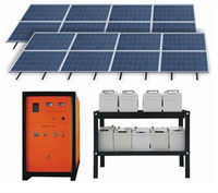 solar home system, solar energy for complete home, high power solar system,