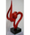 Metal Tabletop Crafts Stainless Steel Abstract Ribbon Sculpture