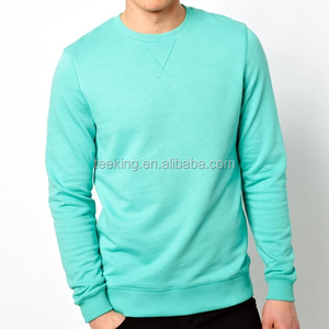 Wholesale custom men crewneck sweatshirt manufacturer