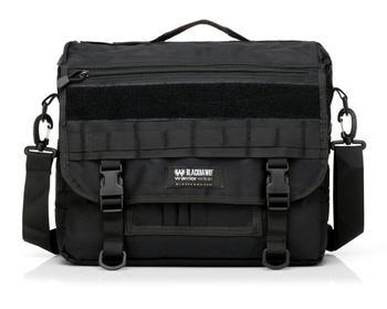 15 Inch Black Edc Messenger Bag Office Briefcase Bag Tactical Laptop ...