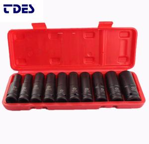 Quality Guarantee air elongated 10 PC 1/2 INCH impact socket for torque wrench