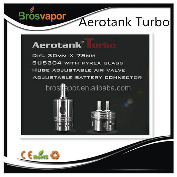Newest Quad Coils 6ml Super Tank Genuine Kangertech Aero Turbo with Stock
