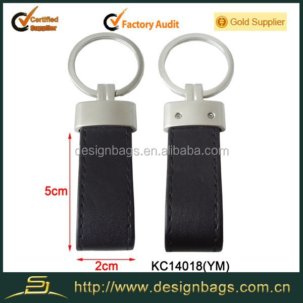 Hot sell keychain men luxury leather keychain