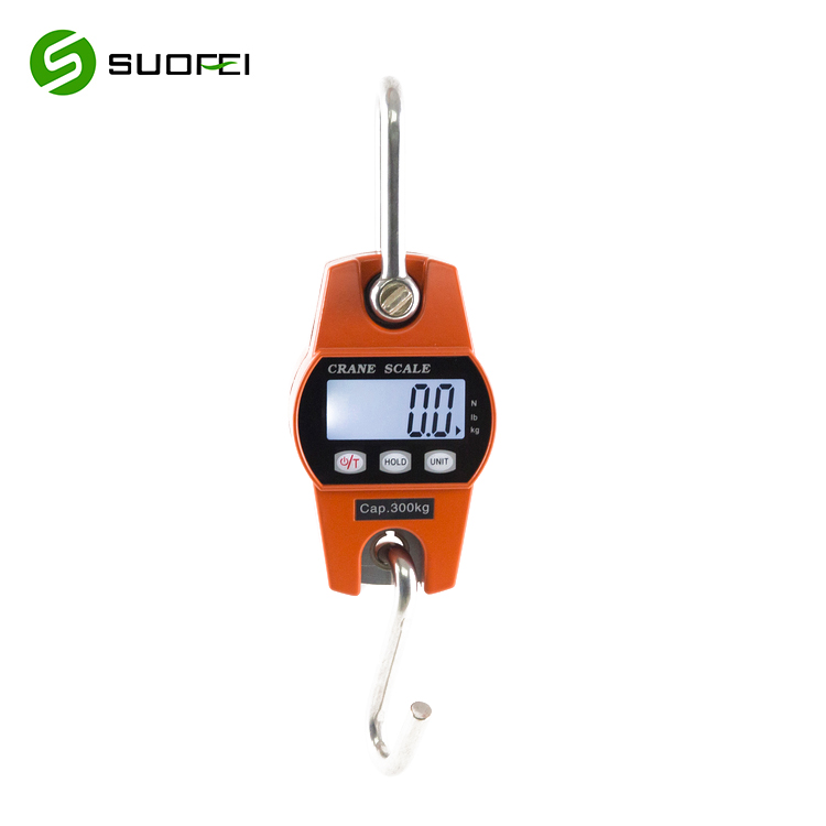 SF-916 Small Portable 300kg Digital Scale Hanging Wireless Bluetooth Crane Fish Scale Model Crane