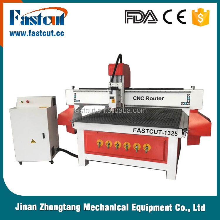 China jinan manufacturer 1325 cnc router machine for woodworking engraving