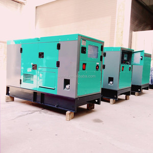 10kw silent open type four protection single phase single bearing engine diesel generator